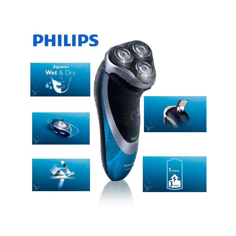 Máquina afeitar Philips AT890 AquaTouch