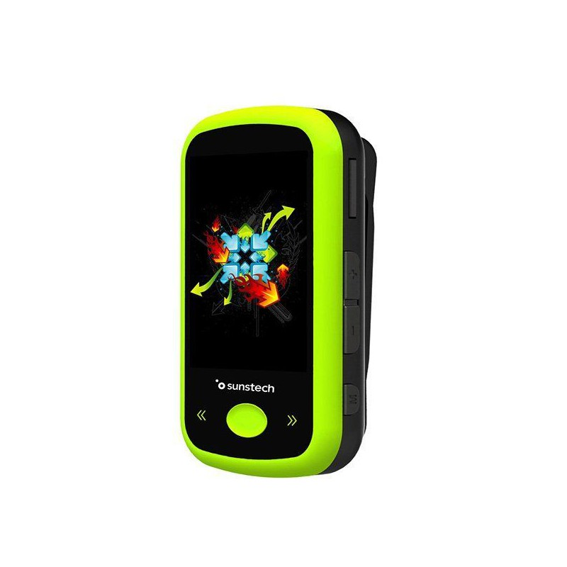 Reproductor MP4 SUNSTECH IBIZABT 4G Verde